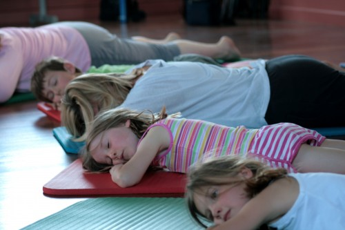 childrens yoga at radiant being