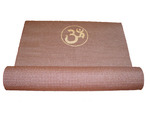 Brown Ohm Yoga Mat